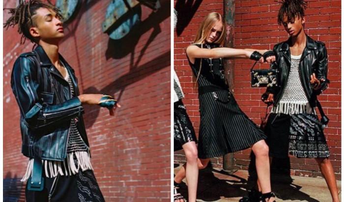"""Jaden Smith, volto """"fluido"""" della nuova collezione Vuitton ..."""