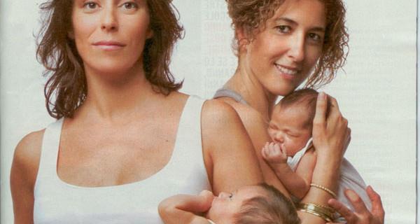 """Francesca Vecchioni con la sua """"famiglia"""""""