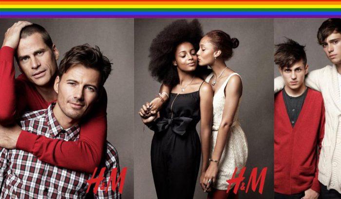 """La campagna di H&M a favore della """"normalizzazione gay"""""""