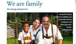 Il bollettino dell'arcidiocesi di Vienna sdogana la famiglia omosessuale