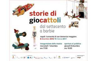 """Napoli: inaugura la mostra """"Storie di giocattoli. Dal Settecento a Barbie"""" promossa dall'Arcigay"""