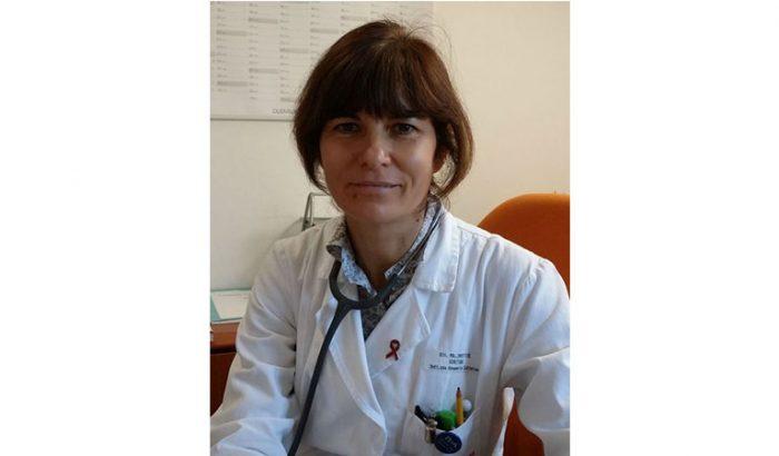 dottoressa Annamaria Cattelan, direttore dell'Unità operativa Malattie infettive e tropicali dell'Azienda ospedaliera di Padova