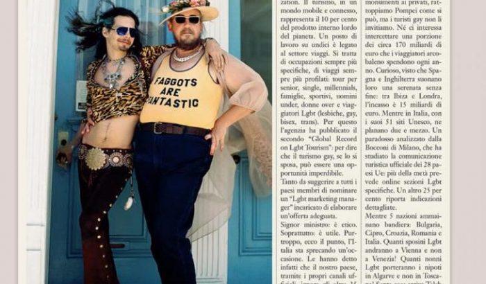 Lettera aperta a Franceschini: lavoriamo per un'Italia gay friendly